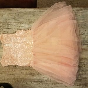 Sequin topped dress